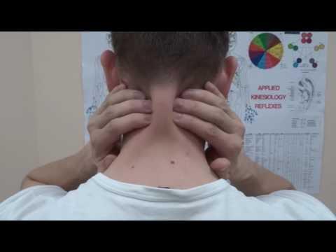 Spondilyoz reparto cervicale di una fotografia