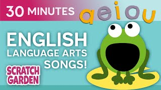 English Language Arts Songs!   Learning Songs Collection   Scratch Garden