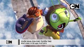 Cartoon Network Việt Nam 7/2018 RUNNING MAN | Cuộc Đua Của Các Tuyển Thủ