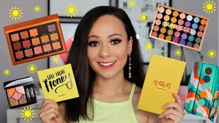 THE BEST EYESHADOW PALETTES FOR SUMMER