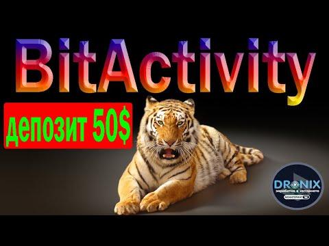 BitActivity ОБЗОР ПРОЕКТА ИНВЕСТИЦИЯ 50$