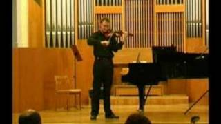 Ysaye Ballada Kamil Zawadzki -violin
