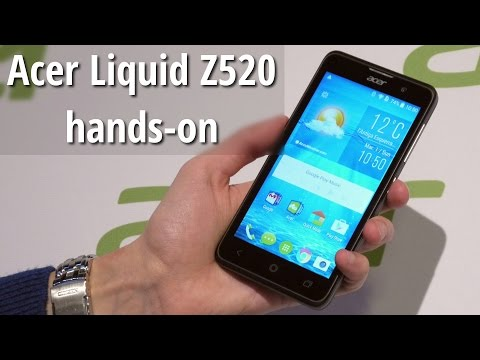 Acer Liquid Z520 hands-on: large screen meets low price