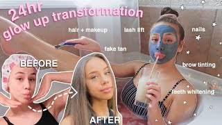 *EXTREME* 24hr quarantine glow up transformation *affordable at home*