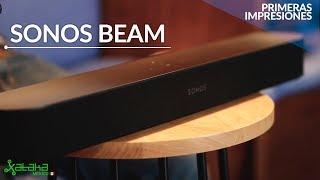 Sonos BEAM: compacta, con cinco bocinas y compatible con ALEXA y ASSISTANT