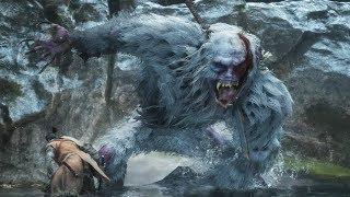 Sekiro: Guardian Ape Boss Fight