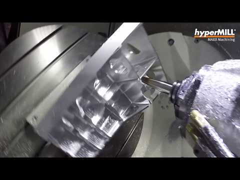 hyperMILL MAXX Machining: High-Performance-Finishing