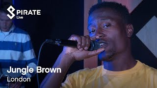 Jungle Brown Ft. Eldé Full Performance | Pirate Live