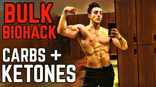 Bodybuilding BioHacks: Bulking With KETONE Supplements: Metabolic Flexibility, Mitochondrial Energy
