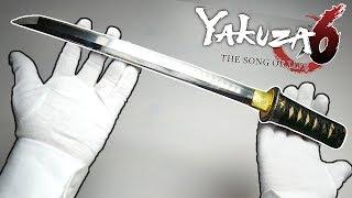 300 YEARS OLD JAPANESE SWORD UNBOXING (Mini Katana) Yakuza 6 Gameplay Japanese Antique