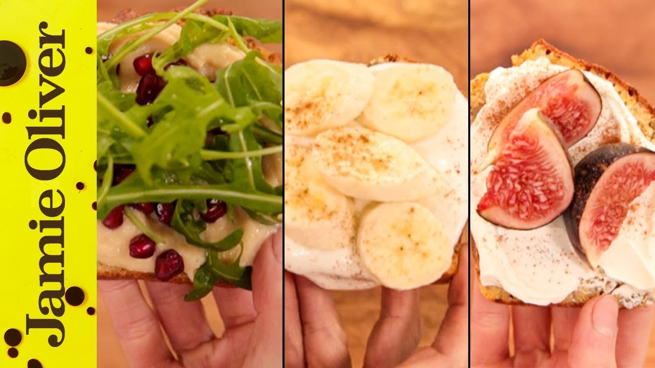 3 x super food energy toppings: F2 Freestylers & Jamie Oliver