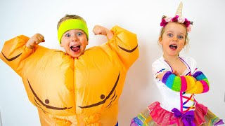 Gaby And Alex - Funny Dress Up Costume Contest