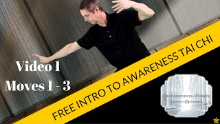 FREE Introduction to Awareness Tai Chi | Video 1 Moves 1 - 3