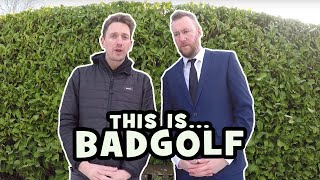 This is Bad Golf with John Robins and Alex Horne!