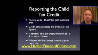 Child Tax Credit Deduction Calculator 2012, 2013