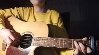 Way Back (잠자리의 집) - Shaun (숀) - Guitar Cover