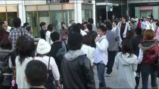 鈴木宗男が札幌・大通公園で大人気