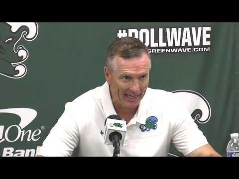 Willie Fritz postgame after Tulane's win over UConn