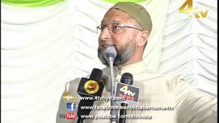 Asaduddin Owaisi Addressing Jalsa from Bahadurpura, Hyderabad   20-03-2019