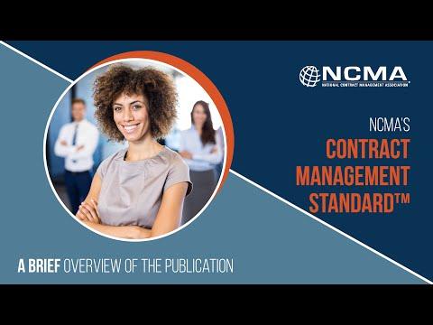 Contract Management Standard - A Brief Understanding - YouTube