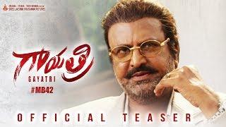 Gayatri Official Teaser | Dr.Mohan Babu M | Vishnu Manchu | Shriya Saran | Nikhila Vimal