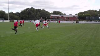 preview picture of video 'Buckley Town FC 2 - 2 Rhyl FC - 25/09/10 - 3'