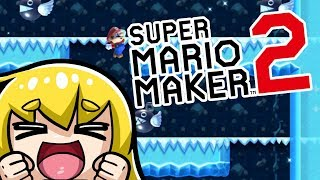 Super Mario Maker 2 - Playing User Creations #5 CRAZY Winter Stages! (Nintendo Switch)