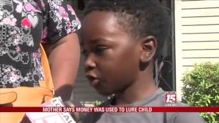 Mom: Man Tried to Lure 6 Yr. Old with Money
