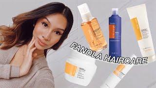 Fanola Haircare Haul & Review! No Orange Shampoo, Nutri Care Conditioner, Hair Mask, Serum, & More!