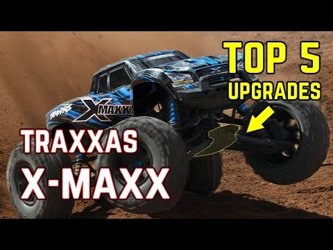Top 5  Upgrades for Traxxas X-Maxx. Cost effective, Durable and Best sellers for 2018.