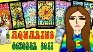 AQUARIUS OCTOBER 2017 - Gentle Persuasion Tarot psychic reading forecast predictions