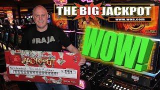WOW! RAJA RECEIVES A BIG CHECK FOR A BIG HANDPAY! 🐯TIGER WOMAN WIN!