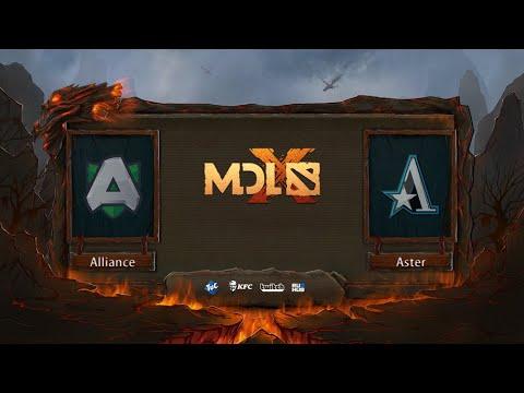 Alliance vs Aster, MDL Chengdu Major, bo3, game 1 [Jam & Mael]