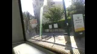 preview picture of video 'Voyage a bord du MAN Lion's city hybride ligne de bus RATP 147'