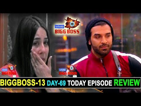 Biggboss 13, Day 68, Today Episode Review, Paras Chhabra Evicted by biggboss, crying shehnaz for sid
