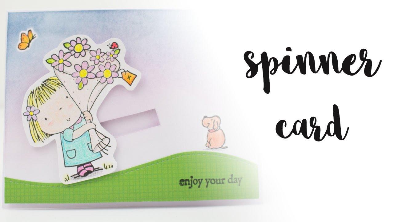Cómo hacer una tarjeta deslizante | How to do a spinner card