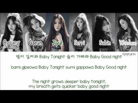 Download Dal Shabet (달샤벳) - Joker [Eng/Rom/Han] Picture + Color Coded HD HD Video