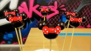 How To Make Mickey and Minnie Mouse Balloon Cake Toppers