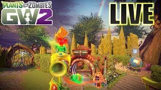Plants vs Zombies Garden Warfare 2 LIVE - With JJ | Sponsor Goal [5/10]