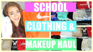 Back To School Clothing Haul 2016-2017: Nike, American Eagle, JCPenney, & More | BTS Sales Shopping!