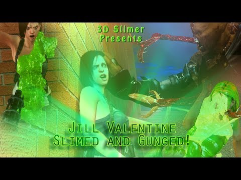 Jill Valentine Slimed and Gunged