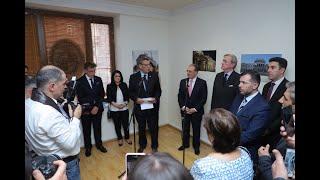 Заявление Министра иностранных дел Зограба Мнацаканяна на церемонии открытия Генерального консульства Уругвая в Ереване