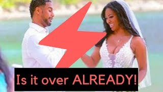 RHOA Kenya husband SPLIT rumors!