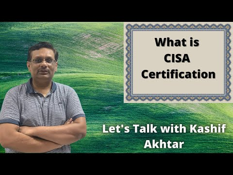 CISA Certification - Explained #Cybersecurity, #ITSecurity, #CISA ...