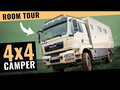 UNICAT Expedition Vehicles - Part 2 MD77H MAN TGS 33 540 - 6X6