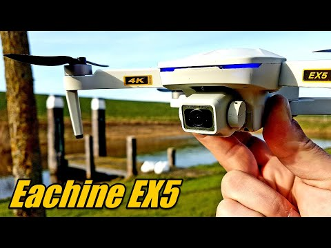 Eachine EX5 Drone First Look and Flight With Follow Me Mode and Crash Test