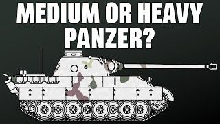 Was the Panther a Medium or Heavy Panzer?