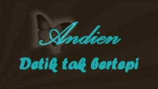 Gambar cover Andien - Detik tak bertepi (lyric)