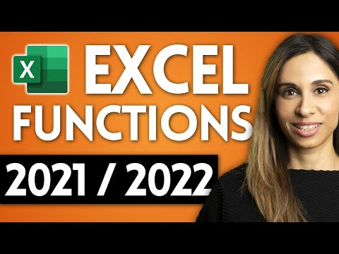 5 Excel Functions YOU NEED in 2021