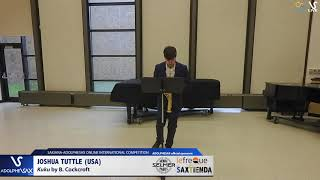 Joshua TUTTLE plays Kuku by B. Cockcroft #adolphesax